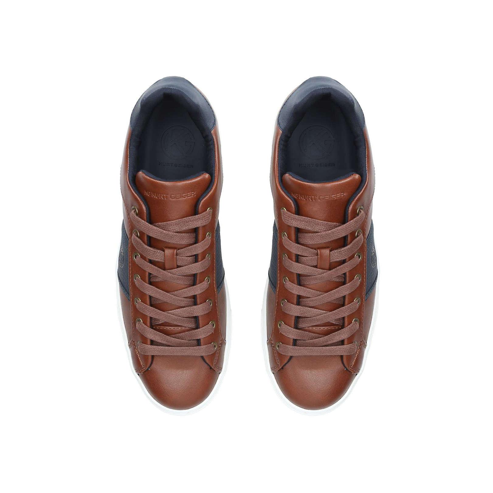 Kurt Geiger Sudbury Sneakers - Tan Brown