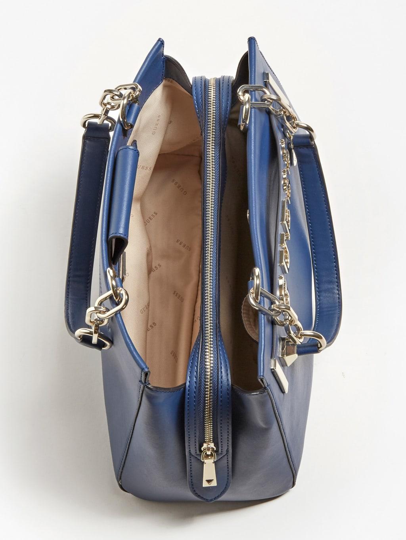 Guess Kerrigan Logo Shoulder Bag - Blue